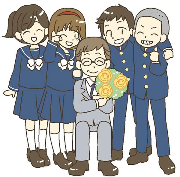 塾の講師と学生