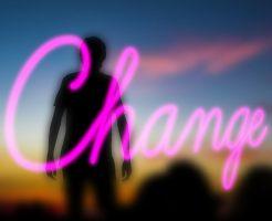 変化をイメージした画像