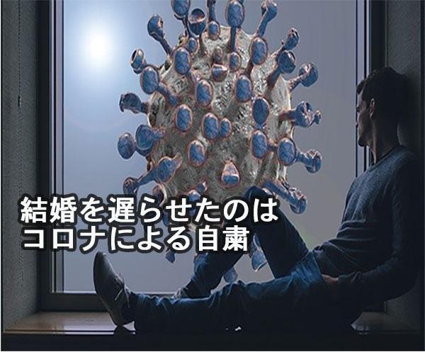 窓の外にコロナウイルスが!